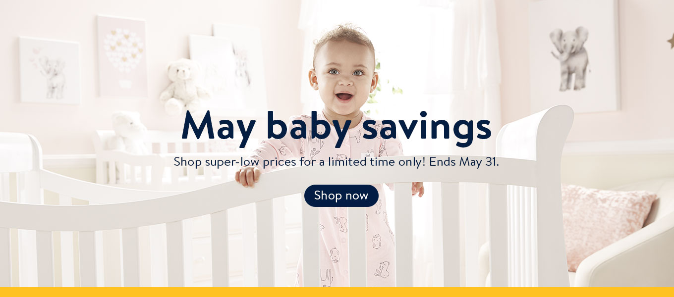 e3a9b01ce May baby savings Shop super-low prices for a limited time only! Ends May