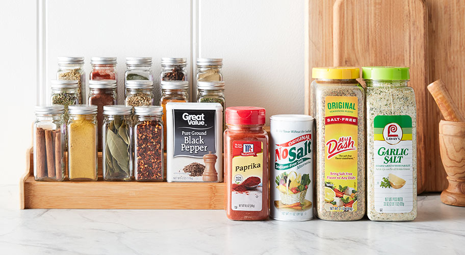 Spice things up   Get all the seasonings you need to add zest to any dish.