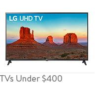 Shop TVs Under $400