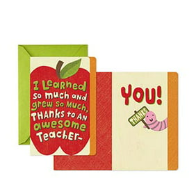 Shop greeting cards for Teacher Appreciation Week.