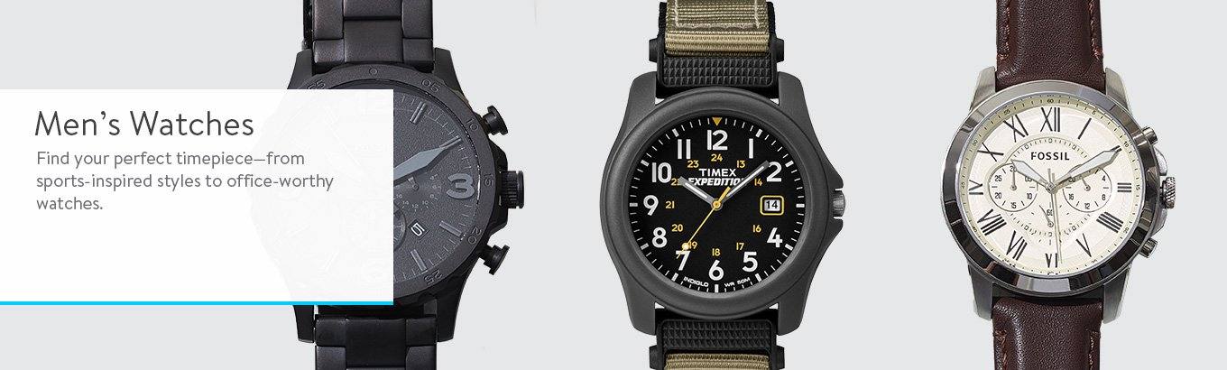 Mens Sport Watches - Search Banner