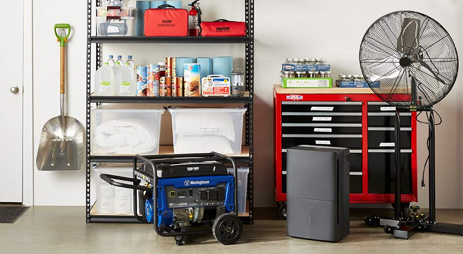Ready for storm season? We've got all the supplies you need to keep your home dry, from dehumidifiers and fans to sump pumps & more. Shop now.