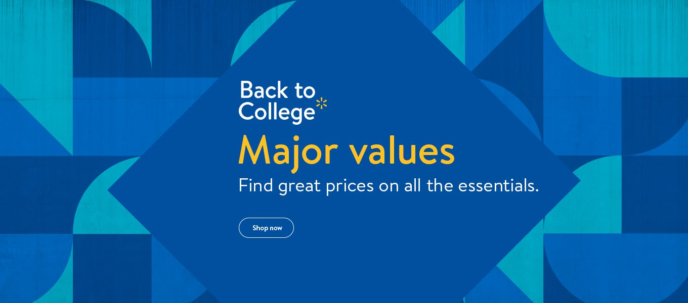 Back to college. Shop by price. Save on all you need to succeed.