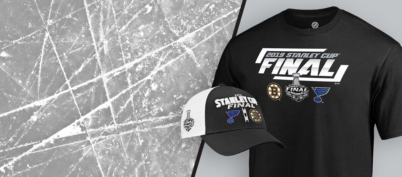 096b0ab1 Shop 2019 Stanley Cup Finals Gear for the St Louis Blues or the Boston  Bruins