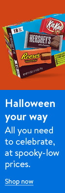 Halloween your way. All you need to celebrate, at spooky-low prices. Shop now.