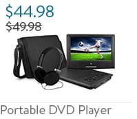 "Ematic 9"" Portable DVD Player Bundle"