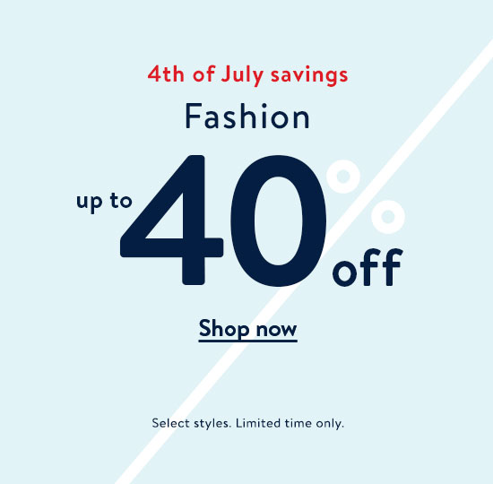 14059940841cff Fashion up to 40% off. Shop now. Select