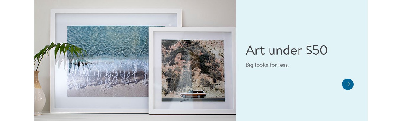 54b400548366 art under fifty dollars. Big looks for less