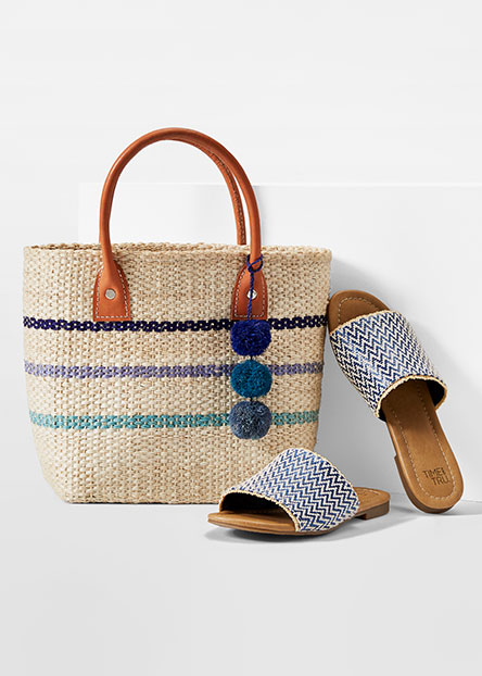 fbfb6ee87 Casual essentials like neutral bags and chic slip-ons.