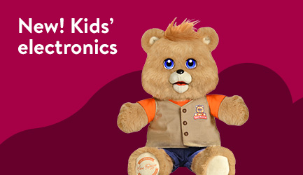 NEW! Kids' electronics