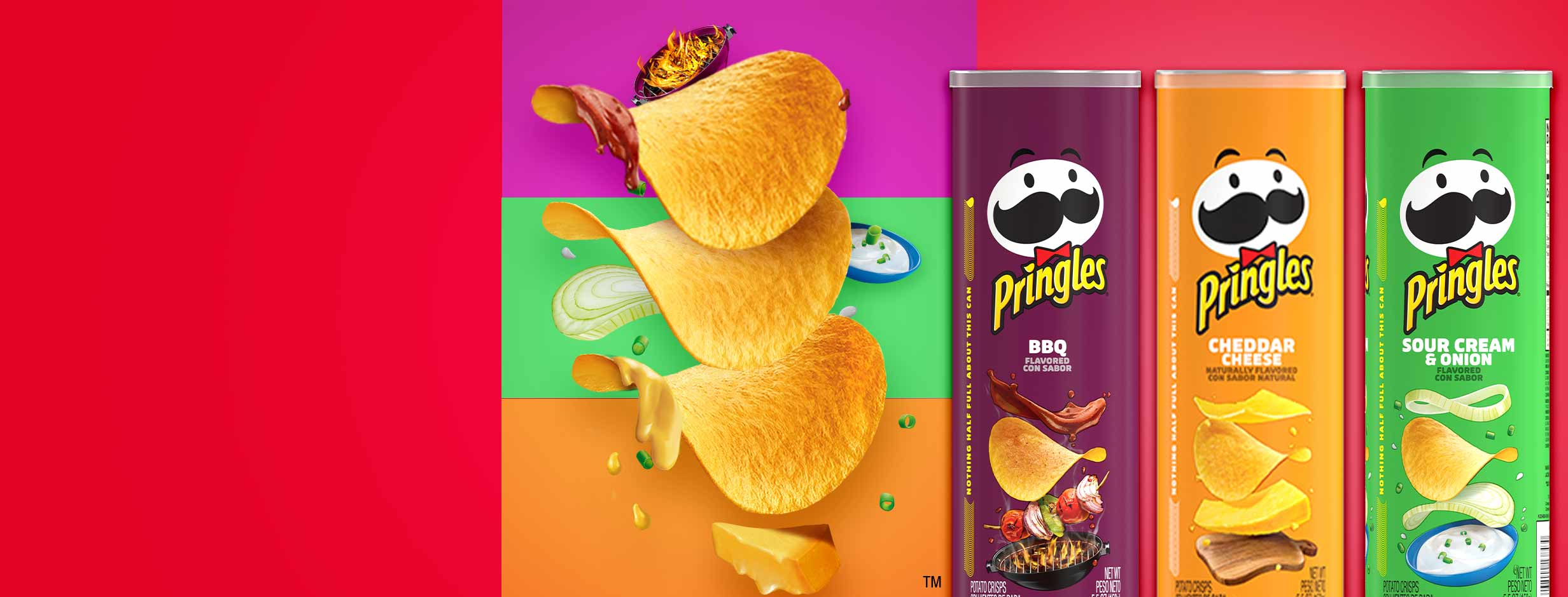 Stack up the flavors with Pringles to create your own three layer dip stack. Shop now and get stacking.
