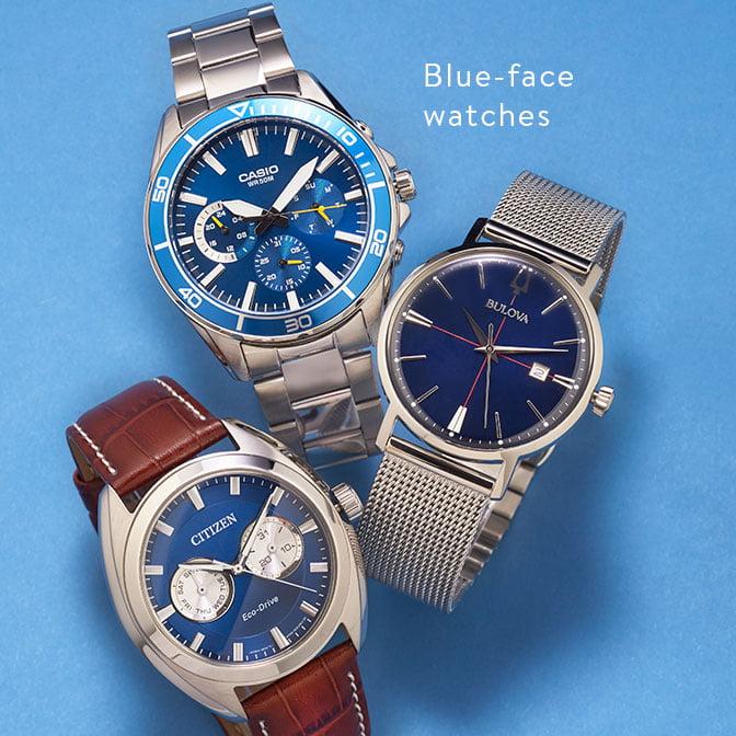 8f52dec9f776d Timepiece trends  Blue-face watches