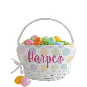 Easter candy baskets eggs and decorations walmart baskets negle Gallery