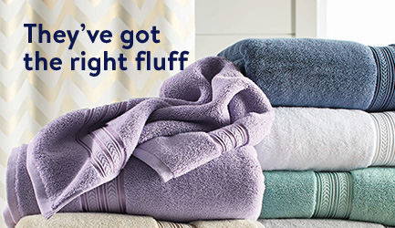 These towels have got the right fluff.