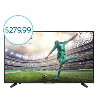 """Sharp 50"""" 4K Smart HDTV"""