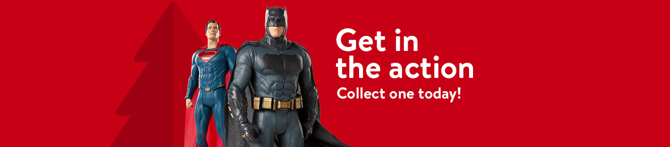 Get in the action Collect one today!