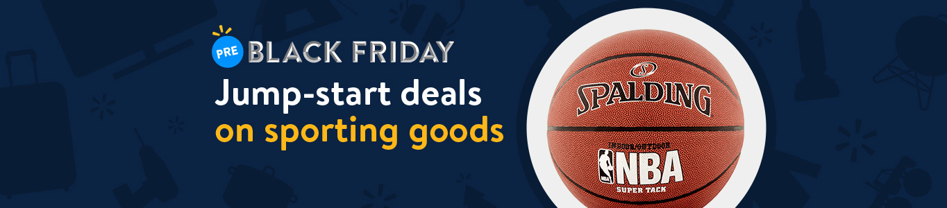 Shop Pre-Black Friday deals on sporting goods!