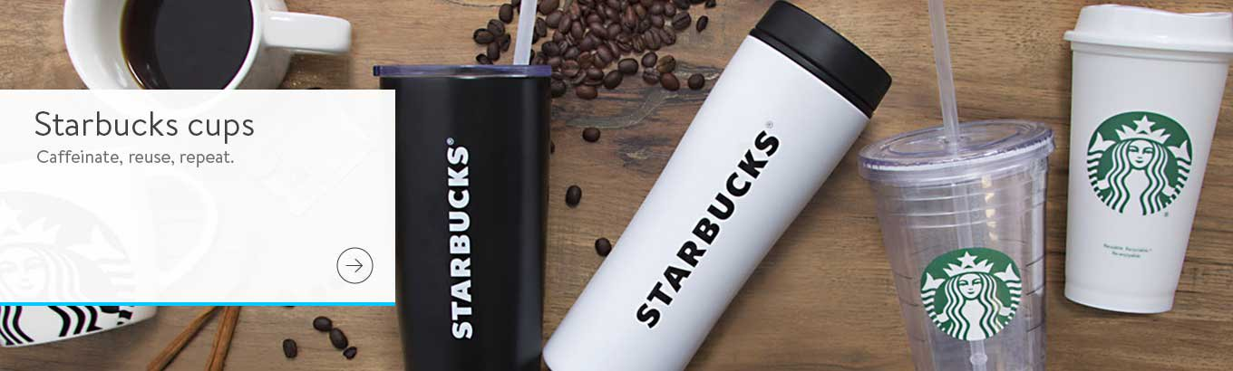 438b84cb805 Starbucks cups. Caffeinate, reuse, repeat.