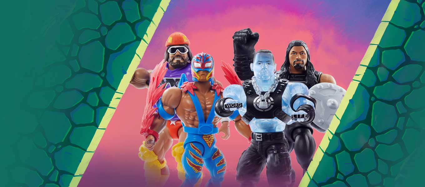Collect & Battle. Shop for WWE action figures today.
