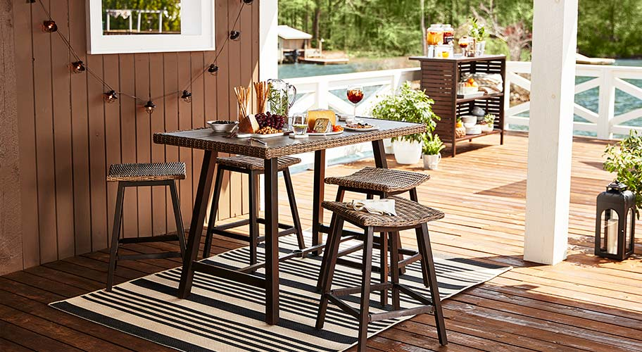 Create The Ultimate Setting For Lunch In Sun With Outdoor Dining Designs High