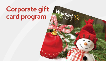 Join the corporate gift card program
