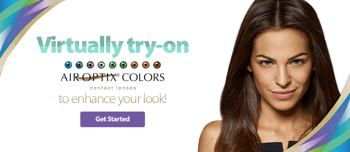 Get Started Air Optix Color Contacts