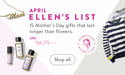 Ellen's List for April