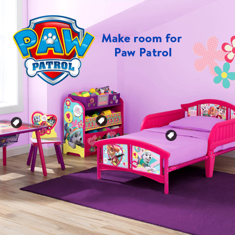 Paw Patrol Skye Everest Toddler Bed
