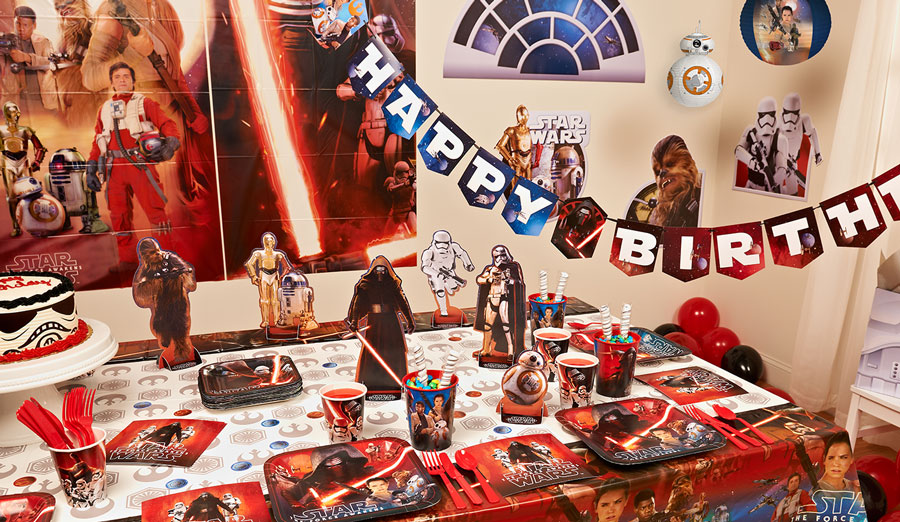 Host a Star Wars-Themed Birthday Party