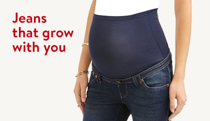 Jeans that grow with you