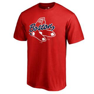 Activewear Activewear Tops Beautiful Nike Dri-fit Boston Red Sox Baseball Short Sleeve Jersey Mens Xl Excellent