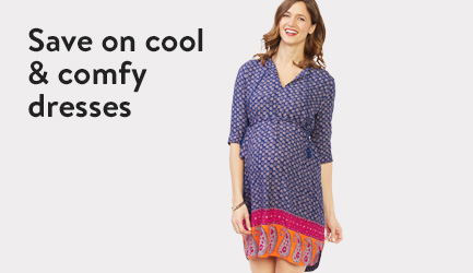 Save on cool and comfy dresses