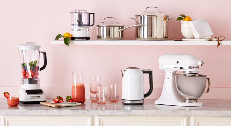 small kitchen appliances. Easy Kitchen Upgrades  In cool colors to match every kitchen these KitchenAid appliances pack Appliances Walmart com