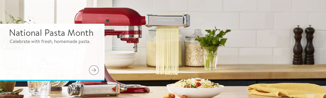 National Pasta Month. Celebrate with fresh, homemade pasta.