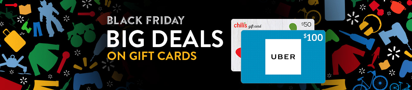 Black Friday deals on gift cards