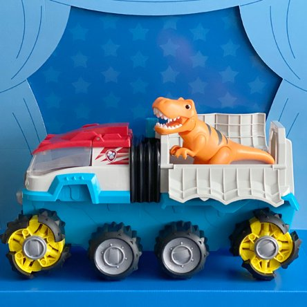PAW Patrol Dino Rescue Patroller. Watch it go with just the push of a button— ready-to-launch rescue nets save any dinos in peril. Shop now