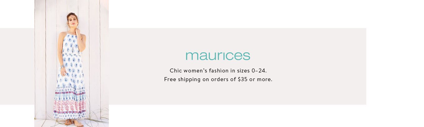 0e9655874d9 maurices. Discover women s fashion for every occasion in sizes ...
