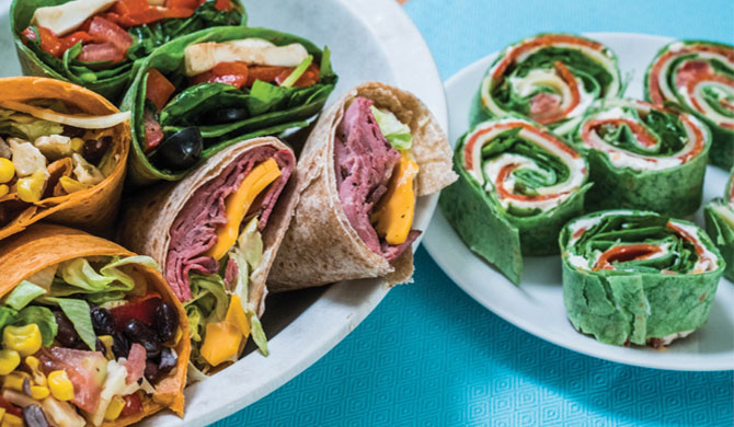 New-School Wraps for Back-to-School Lunches