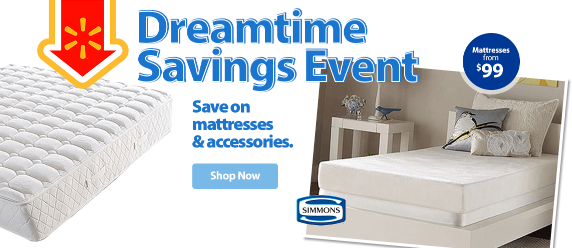 Spa sensations 5 memory foam youth mattress walmartcom for Best time for mattress sales
