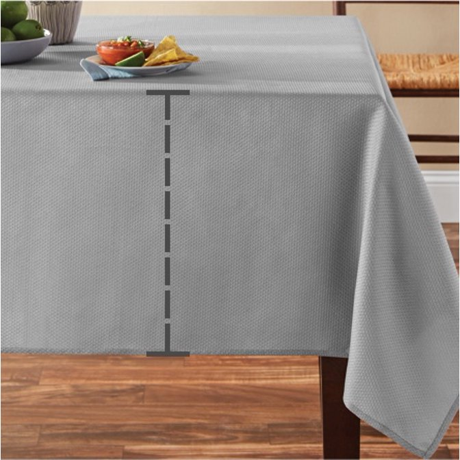 Vinyl Tablecloths Com, What Size Tablecloth For A 38 X 72 Table