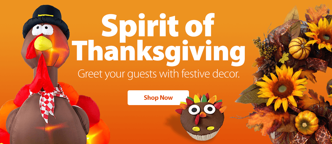 Walmart thanksgiving decorations images custom