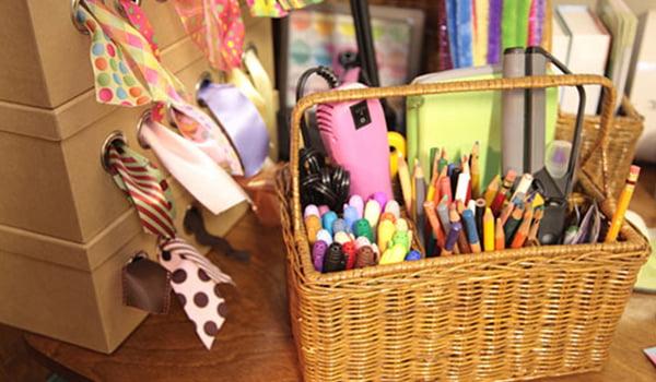 Craft storage and organization 101