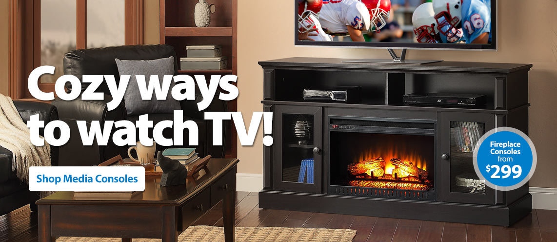 Tv stands entertainment centers for Furniture at walmart