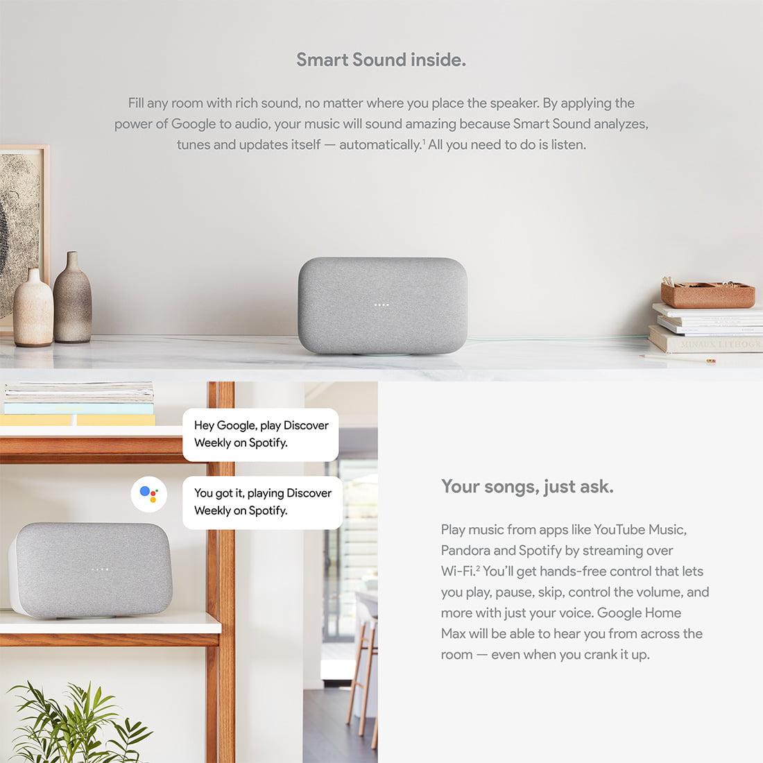 Google Home Max - Walmart.com