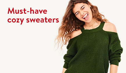 Must-have cozy sweaters