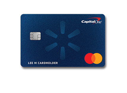 Earn 5% back with the Capital One® Walmart Rewards™ Card