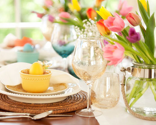 Easter Table Decor Ideas   Walmart.com