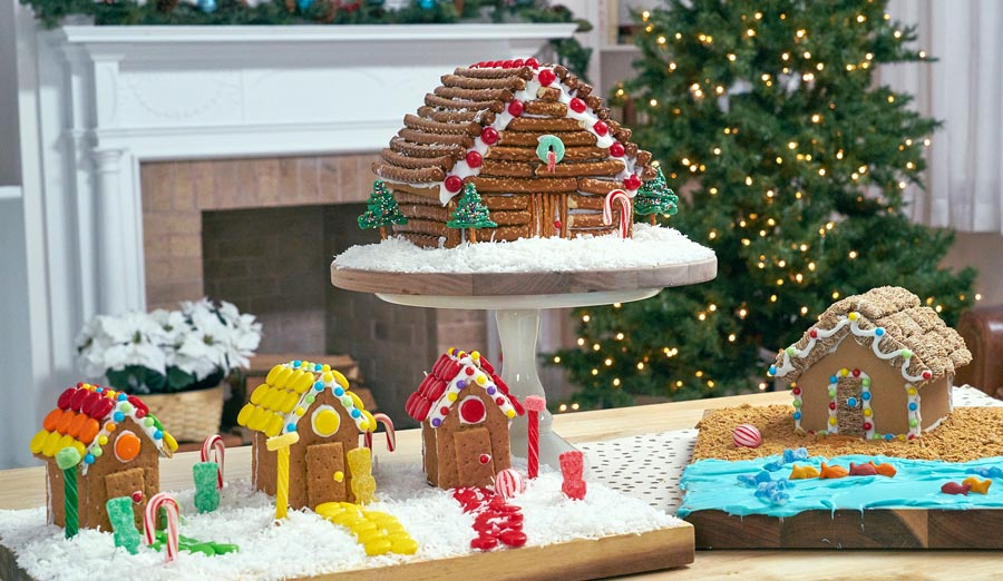 3 Gingerbread House Ideas