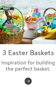 3 Easter baskets. Inspiration for building the perfect basket. Read more.