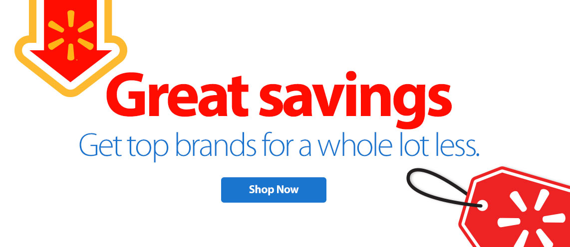 Great savings. Get top brands for a whole lot less.